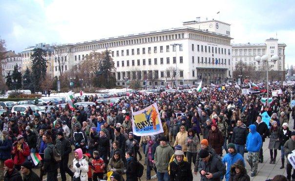 Хиляди протестиращи срещу шистовия газ